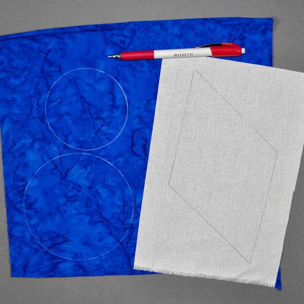 Bohin Pencil drawn on Fabrics