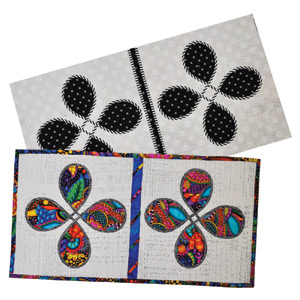 Back to Back Quilt As You Go Table Runner