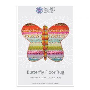 Butterfly Floor Rug Pattern