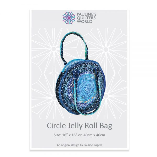 Circle Jelly Roll Bag Pattern