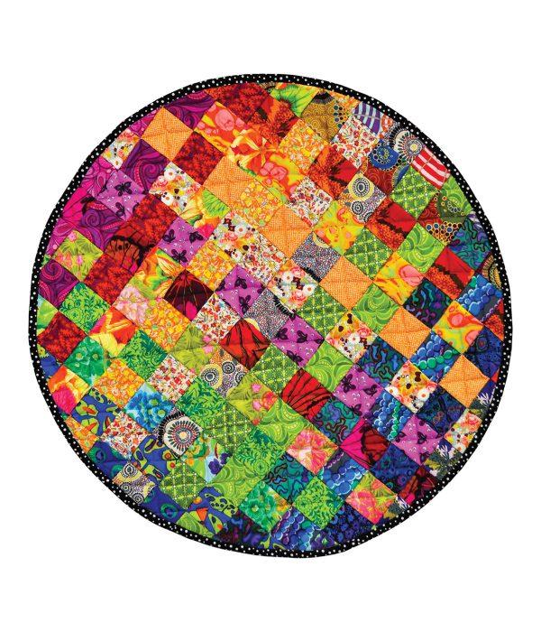 Circle Woven Floor Rug