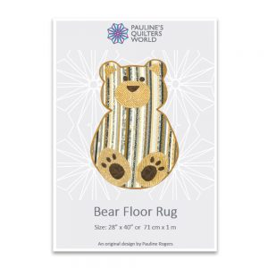 Bear Floor Rug Pattern