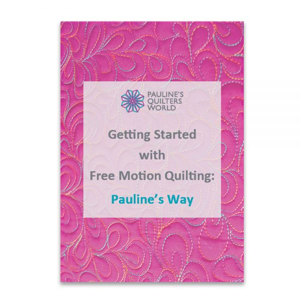 Free Motion Quilting Booklet