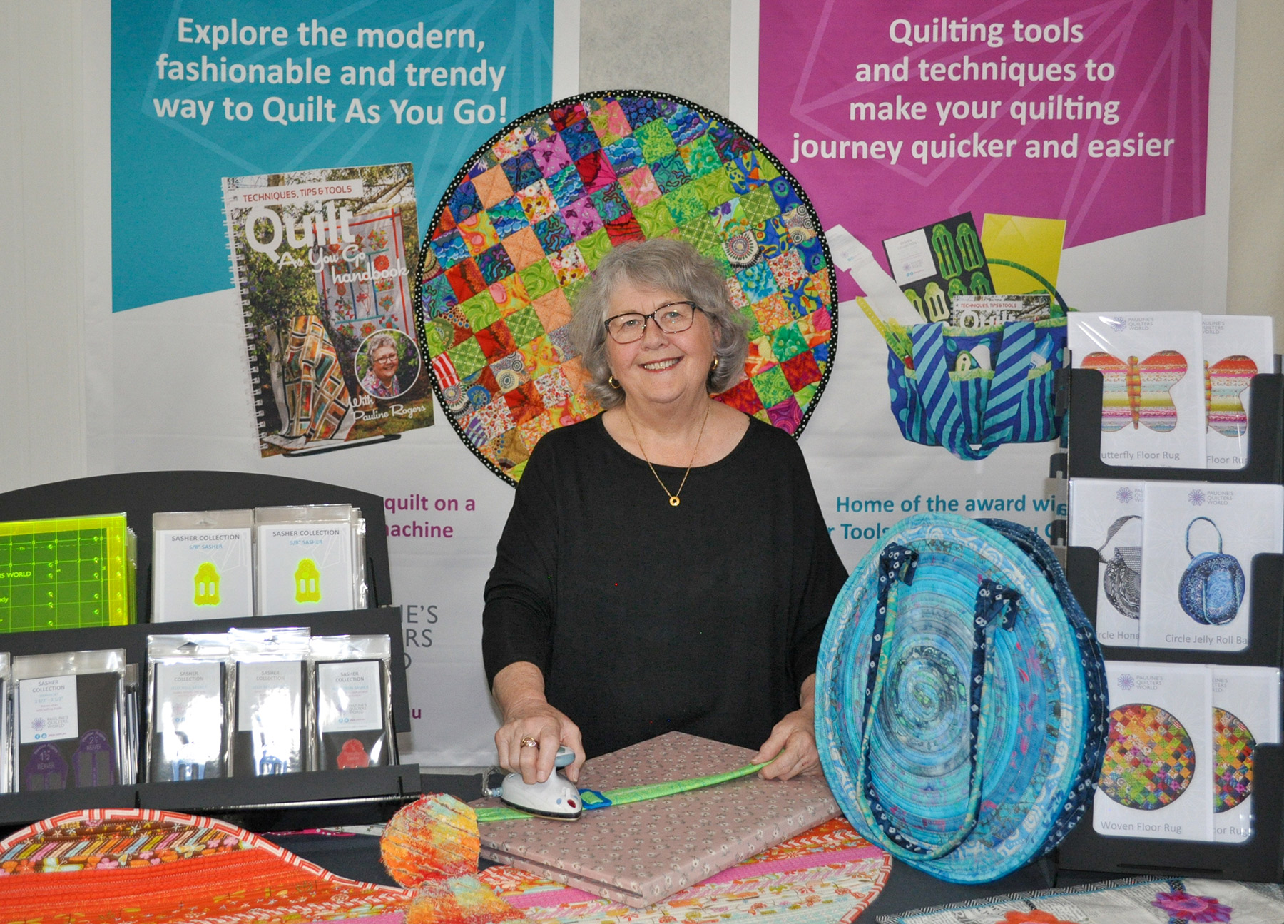 Pauline's Quilters World Event Photo
