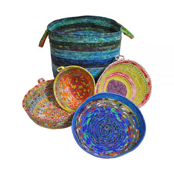 HoneyBun Bowls and Basket Image