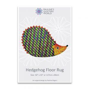 Hedgehog Floor Rug Pattern