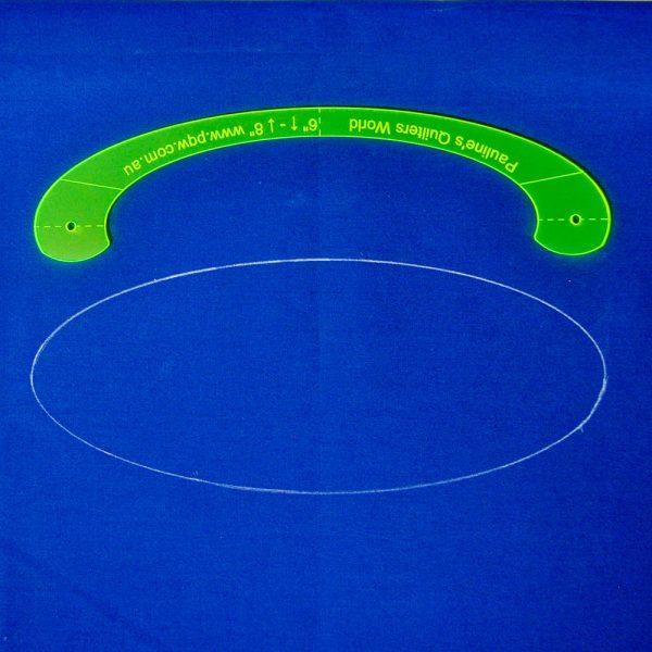 Oval Template Shape