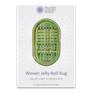 Woven Jelly Roll Rug Pattern