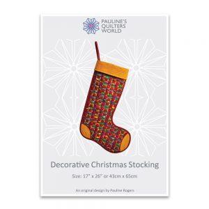 Decorative Christmas Stocking Pattern