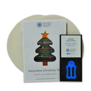 Decorative Christmas Tree Pattern Set