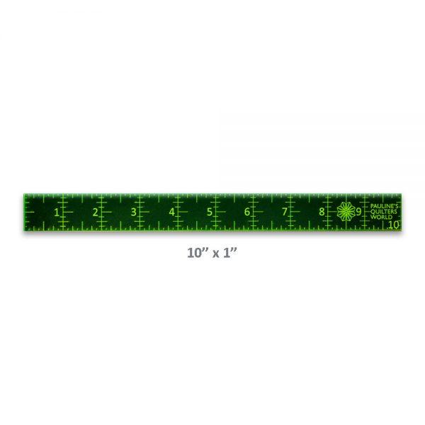 "Precision Quilt Wonders Ruler 10"" x 1"""