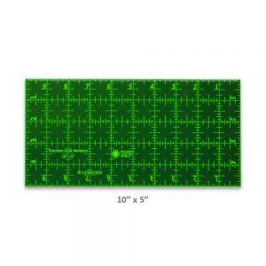 "Precision Quilt Wonders Ruler 10"" x 5"""