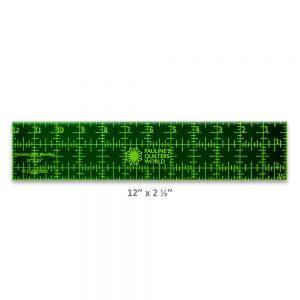 "Precision Quilt Wonders Ruler 12"" x 2 1/2"""