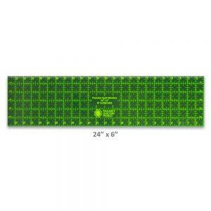 "Precision Quilt Wonders Ruler 24"" x 6"""