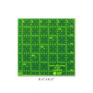"Precision Quilt Wonders Ruler 6 1/2"" x 6 1/2"""