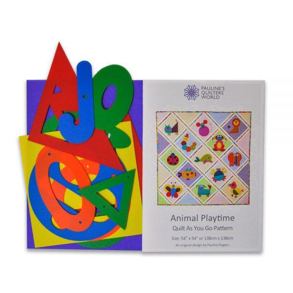 Animal Playtime Quilt Pattern