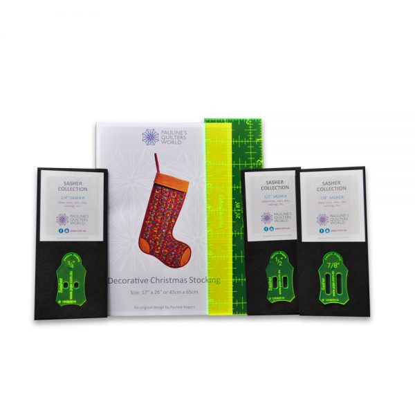 Decorative Christmas Stocking Pattern Pack