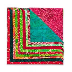 Christmas Squares Fabric