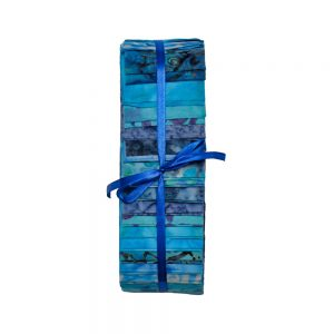 Blue Jelly Roll Fabric