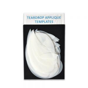 Teardrop Applique Templates