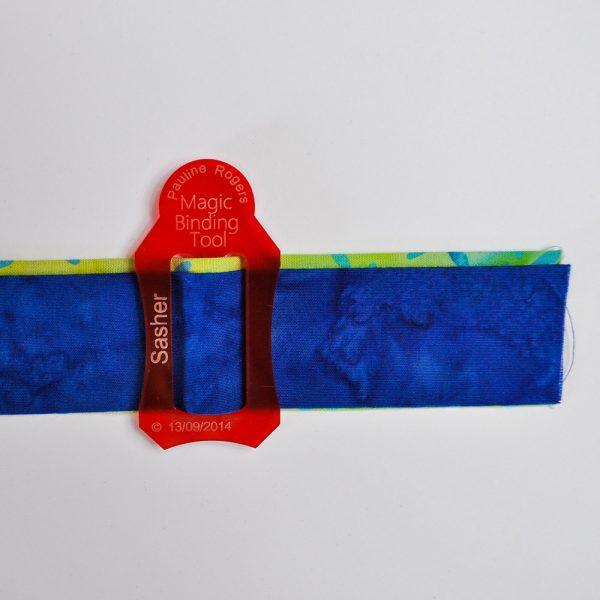 Magic Binding Sasher Tool in use