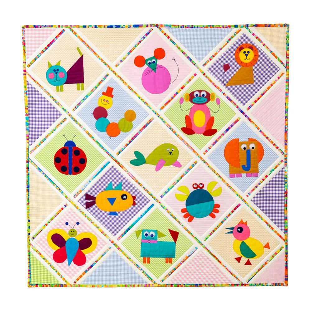 Animal Playtime Quilt Workshop