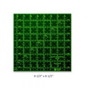 "Precision Quilt Wonders Ruler 8 1/2"" x 8 1/2"""